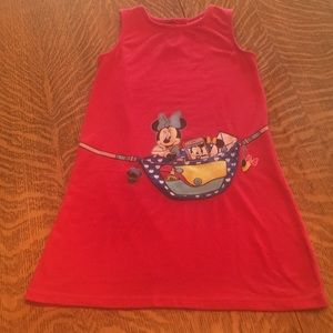 Cute red Minnie Mouse dress